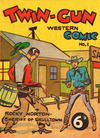 Cover for Twin-Gun Western (New Century Press, 1949 series) #1