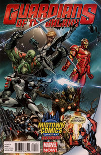 Guardians Of The Galaxy Iron Man Cover Thumbnail for Guardians