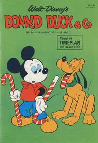 Cover Thumbnail for Donald Duck & Co (Hjemmet, 1948 series) #34/1973