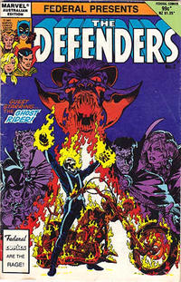 Cover Thumbnail for The Defenders (Federal, 1984 ? series) #2
