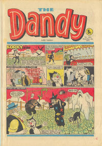 Cover Thumbnail for The Dandy (D.C. Thomson, 1950 series) #1876