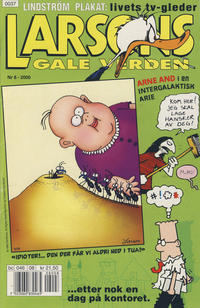 Cover Thumbnail for Larsons gale verden (Bladkompaniet, 1992 series) #8/2000