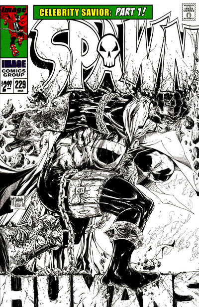 Cover for Spawn (Image, 1992 series) #229
