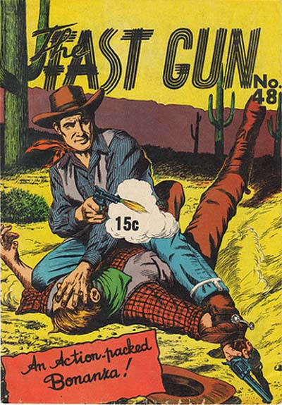 Cover for The Fast Gun (Yaffa / Page, 1967 ? series) #48