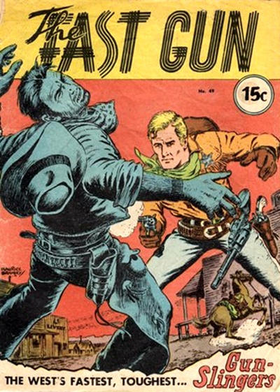 Cover for The Fast Gun (Yaffa / Page, 1967 ? series) #49