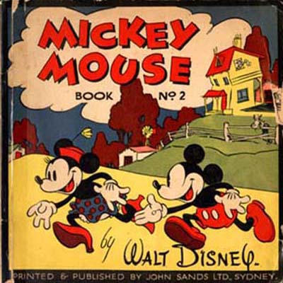 Cover for Mickey Mouse By Walt Disney (John Sands, 1933 series) #2