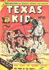 Cover for Texas Kid (Horwitz, 1950 ? series) #10