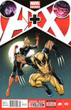 Cover for A+X (Marvel, 2012 series) #6 [Newsstand Edition]