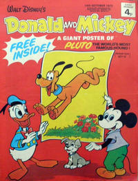 Cover Thumbnail for Donald and Mickey (IPC, 1972 series) #31