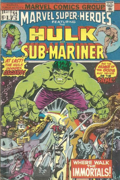 Cover for Marvel Super-Heroes (Marvel, 1967 series) #55