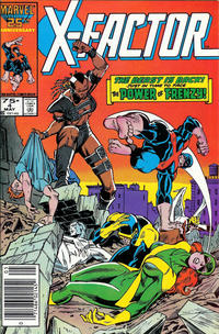 Cover for X-Factor (1986 series) #4 [Direct Edition]