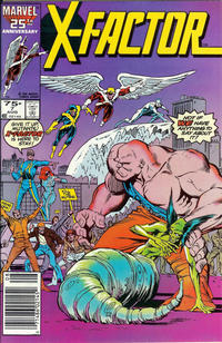 Cover for X-Factor (Marvel, 1986 series) #7 [Direct Edition]