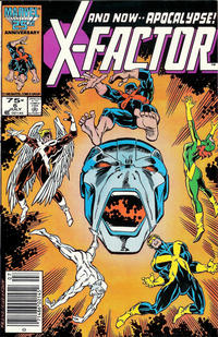 Cover Thumbnail for X-Factor (Marvel, 1986 series) #6 [Newsstand Edition]