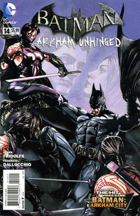 Cover Thumbnail for Batman: Arkham Unhinged (DC, 2012 series) #14