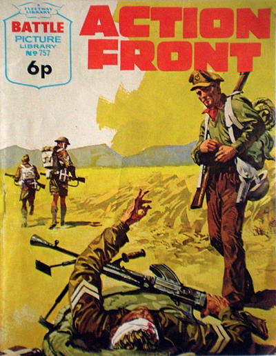 Cover for Battle Picture Library (IPC, 1961 series) #757