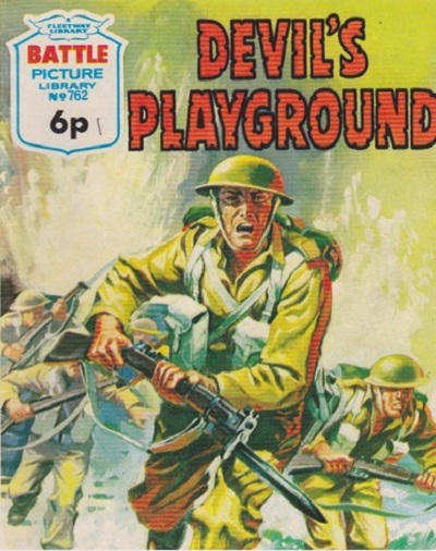 Cover for Battle Picture Library (IPC, 1961 series) #762