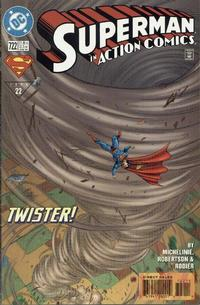Cover Thumbnail for Action Comics (DC, 1938 series) #722