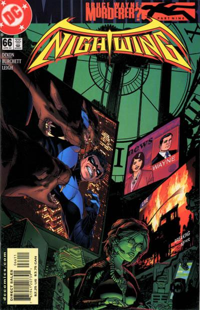 Cover for Nightwing (DC, 1996 series) #66