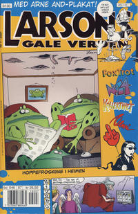 Cover Thumbnail for Larsons gale verden (Bladkompaniet, 1992 series) #7/2001