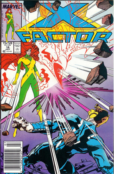 Cover for X-Factor (Marvel, 1986 series) #18 [Direct Edition]