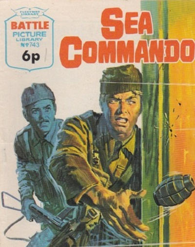 Cover for Battle Picture Library (IPC, 1961 series) #743
