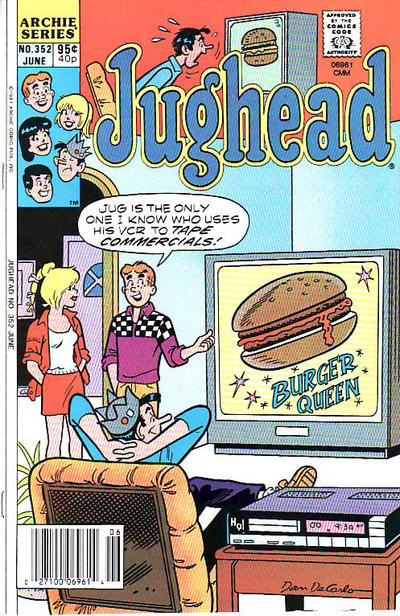 Cover for Jughead (1965 series) #352