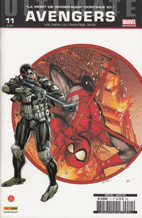 Cover Thumbnail for Ultimate Avengers (Panini France, 2010 series) #11