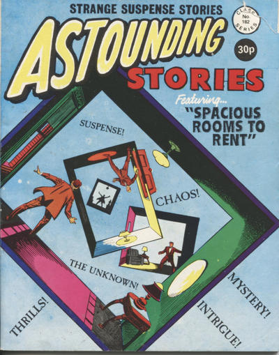 Cover for Astounding Stories (Alan Class, 1966 series) #182