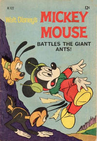 Cover Thumbnail for Walt Disney's Mickey Mouse (W. G. Publications; Wogan Publications, 1956 series) #122