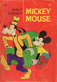 Cover Thumbnail for Walt Disney's Mickey Mouse (W. G. Publications; Wogan Publications, 1956 series) #161