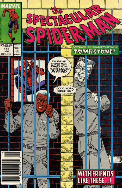 Cover for The Spectacular Spider-Man (Marvel, 1976 series) #151