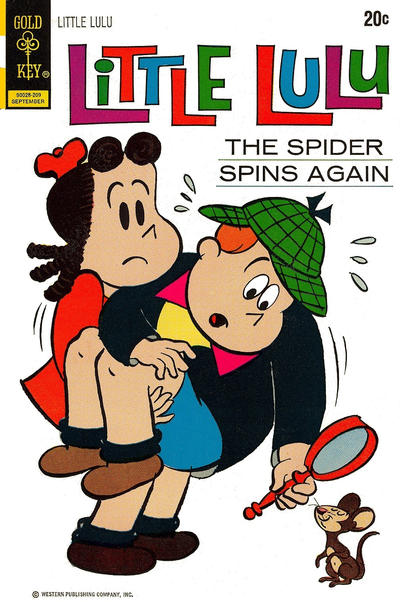 Cover for Little Lulu (Western, 1972 series) #207 [20¢ Variant]
