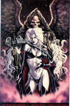 Cover for Lady Death: Dark Millennium (Chaos! Comics, 2000 series) #1 [Premium Edition]