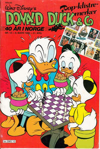 Cover Thumbnail for Donald Duck & Co (Hjemmet, 1948 series) #10/1988
