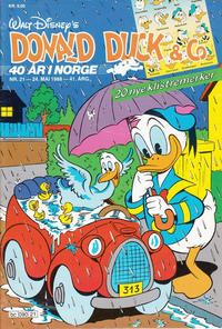 Cover Thumbnail for Donald Duck & Co (Hjemmet, 1948 series) #21/1988