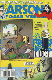 Cover Thumbnail for Larsons gale verden (Bladkompaniet, 1992 series) #6/2002