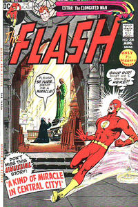 Cover Thumbnail for The Flash (DC, 1959 series) #208 [UK Price Variant]