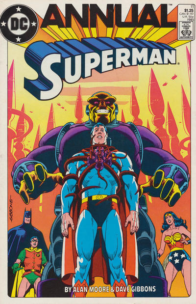 Cover for Superman Annual (DC, 1960 series) #11 [Direct Edition]