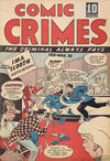Cover for Comic Crimes (Bell Features, 1946 series) #[nn]