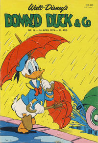 Cover Thumbnail for Donald Duck & Co (Hjemmet, 1948 series) #16/1974