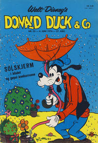 Cover Thumbnail for Donald Duck & Co (Hjemmet, 1948 series) #23/1974