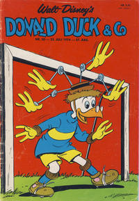 Cover Thumbnail for Donald Duck & Co (Hjemmet, 1948 series) #30/1974