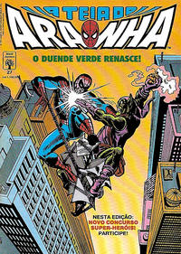 Cover Thumbnail for A Teia do Aranha (Editora Abril, 1989 series) #27