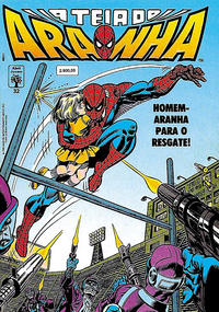 Cover Thumbnail for A Teia do Aranha (Editora Abril, 1989 series) #32