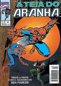 Cover Thumbnail for A Teia do Aranha (Editora Abril, 1989 series) #53