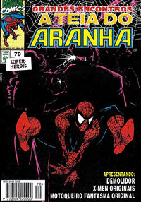 Cover Thumbnail for A Teia do Aranha (Editora Abril, 1989 series) #70