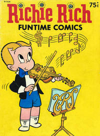 Cover Thumbnail for Richie Rich Funtime Comics (Magazine Management, 1985 series) #R1534