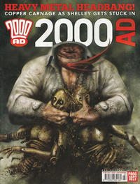 Cover Thumbnail for 2000 AD (Rebellion, 2001 series) #1827
