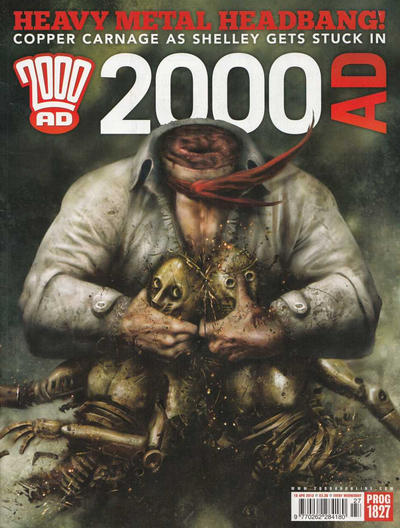 Cover for 2000 AD (Rebellion, 2001 series) #1827