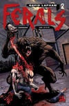 Cover for Ferals (Avatar Press, 2012 series) #2 [Gore Variant Cover by Gabriel Andrade]